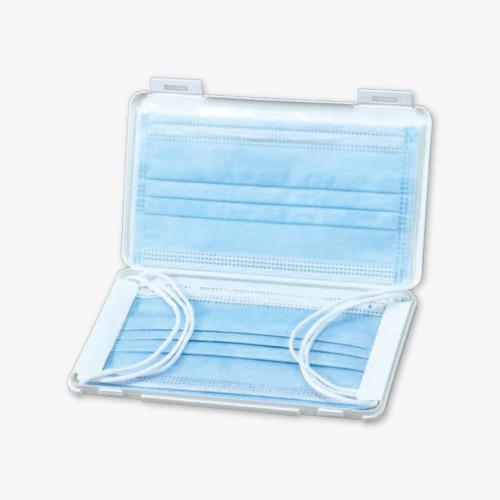 プラスチック製マスクケース