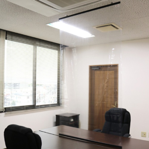 抗菌防炎透明シート天井取り付けタイプ