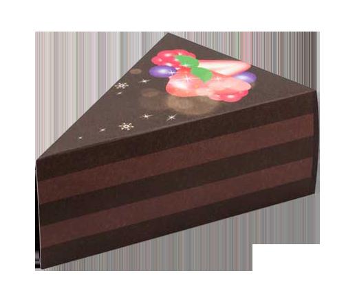ペーパークラフトケーキ型